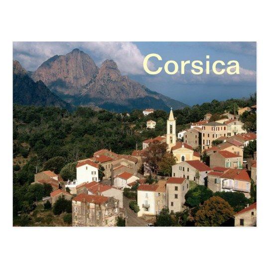carte postale de la Corse France | Zazzle.fr
