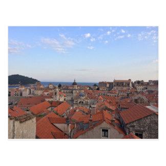 Carte postale de la Croatie