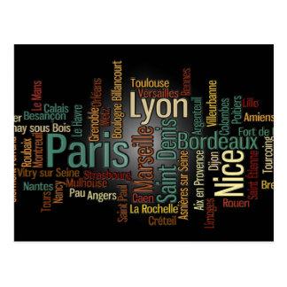 Carte postale de la FRANCE