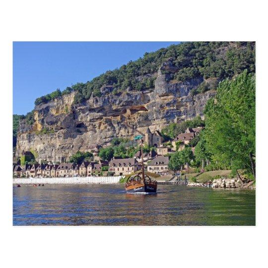 Carte postale de la France de rivière de Dordogne | Zazzle.fr