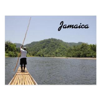 Carte postale de la Jamaïque transportant par