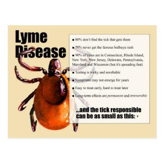 Carte postale de la maladie de Lyme