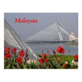 Carte postale de la Malaisie