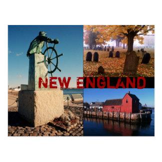 Carte postale de la Nouvelle Angleterre