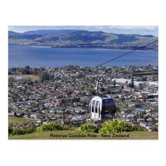 Carte postale de la Nouvelle Zélande - Rotorua