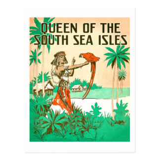 Carte postale de la Reine de mer du sud
