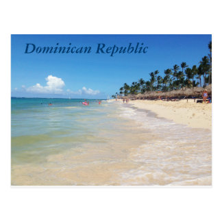 Carte postale de la République Dominicaine