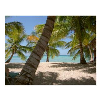 Carte postale de la République Dominicaine d'île d