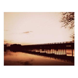 Carte postale de la rivière Snake