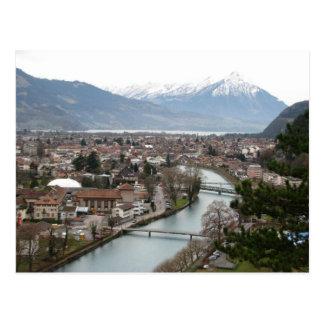 Carte postale de la Suisse