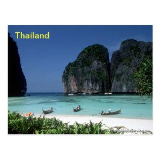 carte postale de la Thaïlande