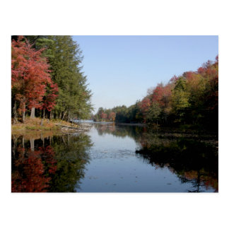 Carte postale de lac Adirondack
