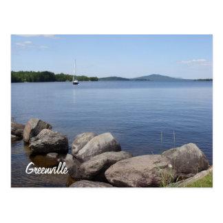 Carte postale de lac Moosehead