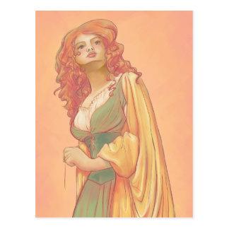 Carte postale de Lady Godiva