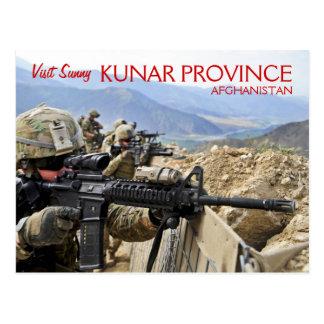 Carte postale de l'Afghanistan