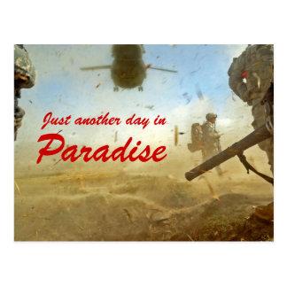 Carte postale de l'Afghanistan de paradis