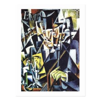 Carte postale de l'art de Popova