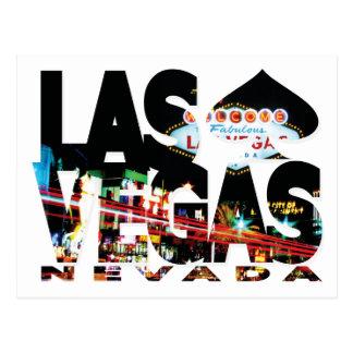 Carte postale de Las Vegas, Nevada
