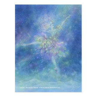 Carte postale de l'aurore