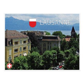 Carte postale de Lausanne - de la Suisse