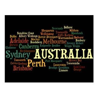 Carte postale de l'AUSTRALIE