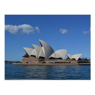 Carte postale de l'Australie de théatre de l'opéra