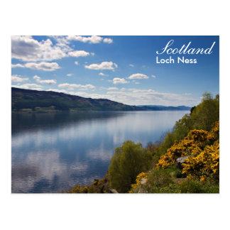 Carte postale de l'Ecosse - de Loch Ness