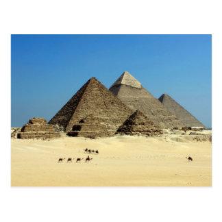 Carte postale de l'Egypte