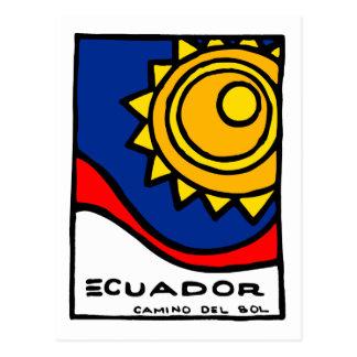 Carte postale de l'Equateur
