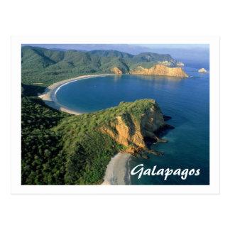 carte postale de l'Equateur Galapagos