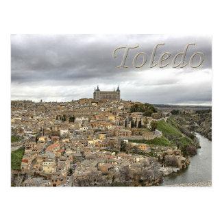 Carte postale de l'Espagne de Castille-La Manche