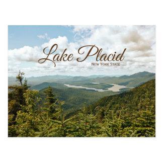 carte postale de l'état de Lake Placid New-York