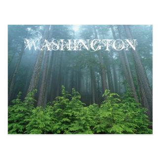 Carte postale de l'état de Washington