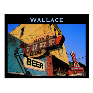 Carte postale de l'Idaho (Wallace)