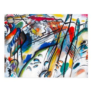 Carte postale de l'improvisation 28 de Kandinsky