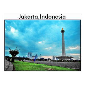 Carte postale de l'Indonésie