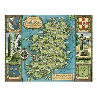 Carte postale de l'Irlande