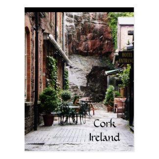 Carte postale de l'Irlande de liège