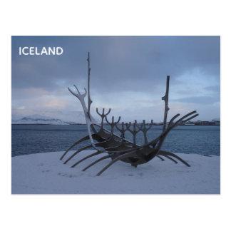 Carte postale de l'Islande