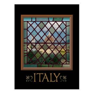 Carte postale de l'Italie