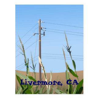 Carte postale de Livermore