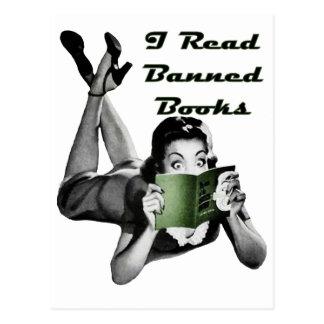 Carte postale de livres interdits