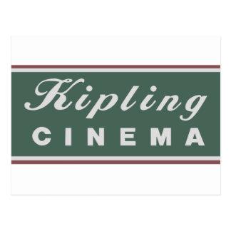 Carte postale de logo de cinéma de Kipling