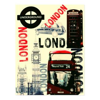 Carte postale de Londres