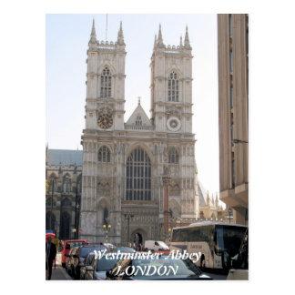Carte postale de Londres R-U d'Abbaye de