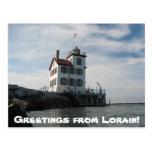 Carte postale de Lorain