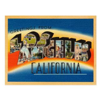 Carte postale de Los Angeles la Californie
