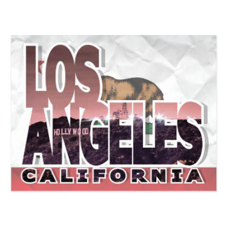 Carte postale de Los Angeles, la Californie