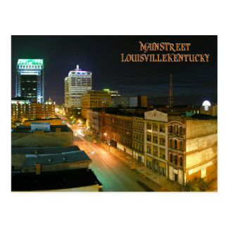 Carte postale de Louisville Kentucky