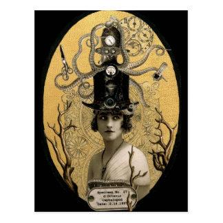 Carte postale de Lucinda Octavio Steampunk